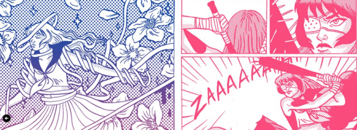 Comic Book Creator Jenn Woodall On Zines, Magical Beatdown