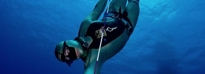 World Champion Freediver Mandy-Rae Krack