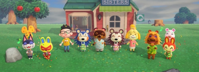 Animal Crossing: New Horizons 4 1/2 Stars (out of 5)