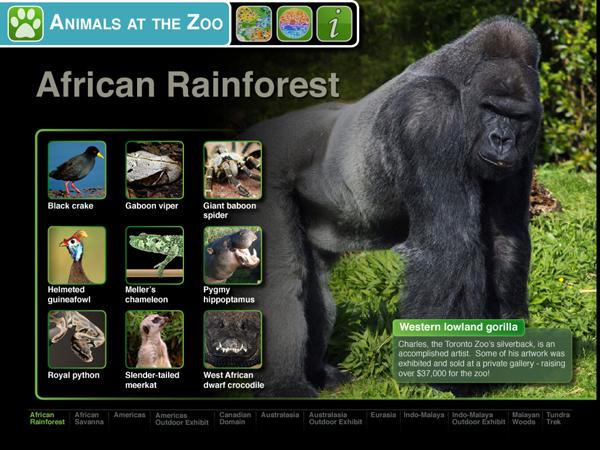 Zoo Pad